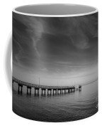 End Of The Pier Landscape Photograph Coffee Mug
