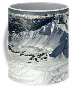 Endless Cpr Ridge At Kicking Horse Coffee Mug
