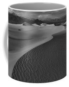 Endless Dunes Black And White Coffee Mug