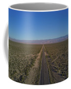 Endless Road Aerial  Coffee Mug