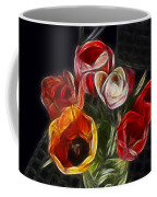 Energetic Tulips Coffee Mug