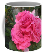 Energizing Pink Roses Coffee Mug