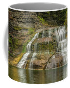 Enfield Falls Tompkins County New York Coffee Mug