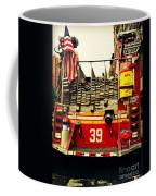 Engine 39 - New York City Fire Truck Coffee Mug