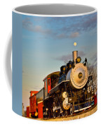 Engine 509 At Crossville Tennessee Puffing Coffee Mug