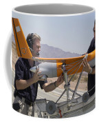 Engineers Mount A Scaneagle Unmanned Coffee Mug