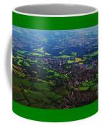 An Aerial Vision Of England Coffee Mug