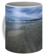 England, Lindisfarne Storm Approaching Coffee Mug