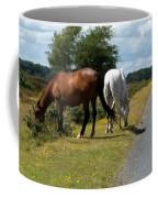 England - Wild Horses Coffee Mug