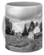 English Cottage In Winter Coffee Mug