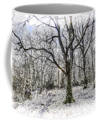 English Forest Snow Art Coffee Mug