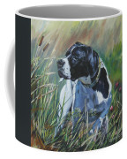 English Pointer In The Field Coffee Mug