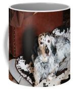 English Setter Lay Coffee Mug