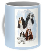 English Springer Spaniel W/ghost Coffee Mug