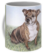 English Staffordshire Terrier Coffee Mug