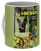 English Toy Terrier Art Canvas Print - Batman Movie Poster Coffee Mug