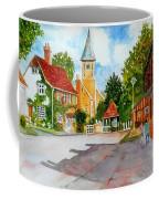 English Village Street Coffee Mug