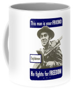 Englishman - This Man Is Your Friend Coffee Mug