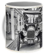 Englishtown New Jersey Antique Classic Car Coffee Mug