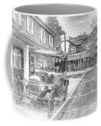 Englishtown New Jersey Classic Car Coffee Mug