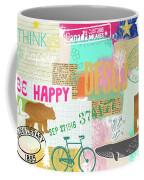 Enjoy Every Moment Collage Coffee Mug