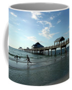 Enjoy The Beach - Clearwater Pier Coffee Mug
