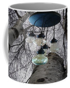 Enlightened Birch Trees Coffee Mug