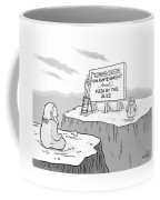 Enlightenment And Pizza Coffee Mug