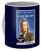 Enlist In A Proud Profession - Join The Us Cadet Nurse Corps Coffee Mug