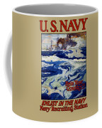 Enlist In The Navy - Help Your Country Coffee Mug