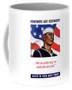 Enlist In Your Navy Today - Ww2 Coffee Mug