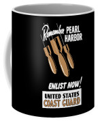 Enlist Now - United States Coast Guard Coffee Mug