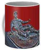 Enos Country Slaughter Statue - Busch Stadium Coffee Mug