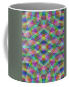 Entangled Curves Two Coffee Mug