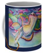 Entangled Figure With Rocks Coffee Mug