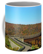 Enter The Kinzua Skywalk Coffee Mug