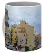 Entering Cefalu In Sicily Coffee Mug