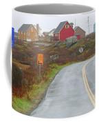 Entering Peggys Cove 6068 Coffee Mug
