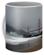 Entering The Golden Gate Coffee Mug