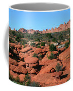 Entrada Sandstone Formations - Arches National Park Coffee Mug
