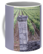 Entrance Of A Vineyard, Chateau La Coffee Mug