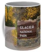 Entrance To Glacier Coffee Mug