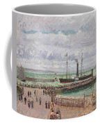 Entrance To The Port Of Le Havre And The West Breakwaters Coffee Mug