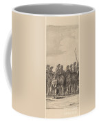 Entry Of Marie De Medici Into Amsterdam [plate 5 Of 6] Coffee Mug
