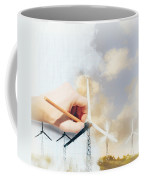 Environment Engineer Drafting Sustainable Design Coffee Mug