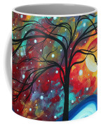 Envision The Beauty By Madart Coffee Mug by Megan Duncanson