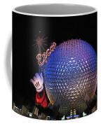 Epcot At Night Coffee Mug