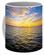 Epic Colorful Sunset On Sea Coffee Mug