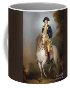 Equestrian Portrait Of George Washington Coffee Mug by Rembrandt Peale