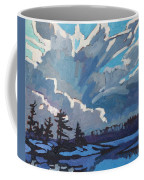 Equinox Cold Front Coffee Mug by Phil Chadwick
